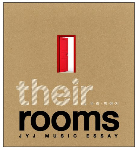 JYJ Music Essay - Their Rooms(韓国盤)