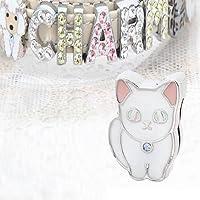 チャームコレクション スライドチャーム 猫 マンチカン 18 品番:BKE-101 18