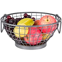 SLH 北欧スタイル鍛造鉄フルーツバスケットリビングルーム収納バスケットクリエイティブヨーロッパのフルーツプレート家庭用モダンミニマリストフルーツボール