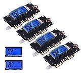 4個 デュアルUSB 5V 1A 2.1A 18650バッテリPCBモジュール基板保護DIY USB