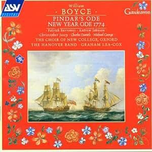 Boyce: Pindar's Ode/New Year