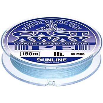 サンライン(SUNLINE) PEライン ソルティメイト キャストアウェイ 150m 25lb パールブルー