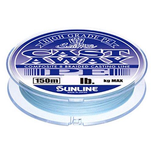 サンライン(SUNLINE) PEライン ソルティメイト キャストアウェイ 150m 40lb パールブルー