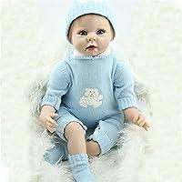 22インチSmile Boyベビー人形ソフトビニールReal Lifeベビー人形