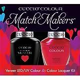 Cuccio MatchMakers Veneer & Lacquer - Bali Bliss - 0.43oz/13ml Each