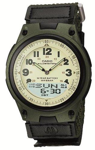 腕時計 スタンダード アナログ/デジタル コンビネーションモデル AW-80V-3BJF メンズ カシオ