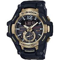 [カシオ]CASIO 国内正規品 メンズ Gショック G-SHOCK ジーショック GRAVITYMASTER グラビティマスター アナデジ タフソーラー ブラック×ゴールド 20気圧防水 GR-B100GB-1AJF 腕時計[正規輸入品]