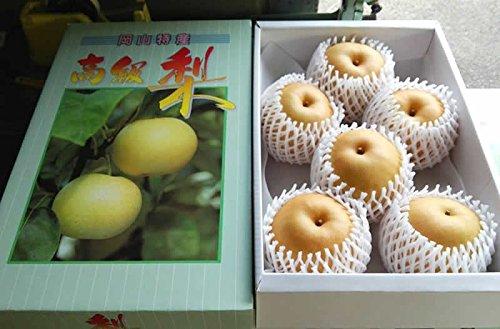 低農薬 岡山産 梨 詰め合わせ 約4キロ 3L 大玉8玉入 贈答用 和梨 産地直送