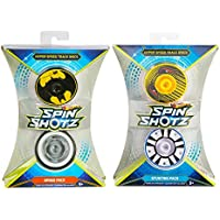 Maven Gifts: Hot Wheels- Spin Shotz Hyper Speed Track Discs: Stunting Pack (Pack of 2)