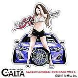 CALTA-ステッカー-86改-W-青 (1.Sサイズ)