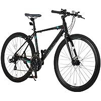 【組立必要商品】NEXTYLE(ネクスタイル) CNX-7021DC ディスクブレーキ シマノ製21段変速 アルミ 700c LEDライト クロスバイク 自転車 27インチ 通勤 700c