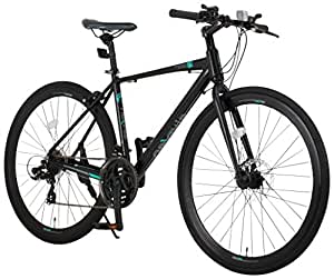 NEXTYLE(ネクスタイル) ディスクブレーキ シマノ製21段変速 自転車 27インチ 700c CNX-7021DC(ブラック)