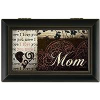 Carsonホームアクセント18056 Mom Jo Moulton、音楽ボックス、6インチinch by 2 – 1 / 2インチ