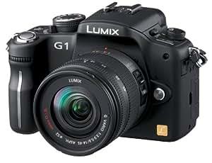 Panasonic デジタル一眼カメラ LUMIX (ルミックス) G1 レンズキット コンフォートブラック DMC-G1K-K