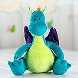 MAXYOYO ぬいぐるみ 恐竜 幼竜 子供フワフワ抱き枕 小さいサイズ おもちゃ 柔らか 添い寝まくら 1~6歳 子供/赤ちゃん 誕生日 プレゼント ギフト 可愛いトリトン萌え物
