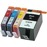 HP 934XL 935XL 【大容量】互換インクカートリッジ 4色セット OfficeJet Pro 6230 / 6830 対応 残量表示ICチップ付き≪ベルカラー≫