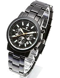 [Smith & Wesson]スミス&ウェッソン クロノグラフ ミリタリー腕時計 PILOT WATCH CHRONOGRAPHBLACK SWW-169 [正規品]