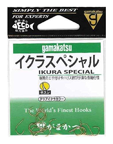 がまかつ(Gamakatsu) イクラスペシャル フック 6.5号 釣り針
