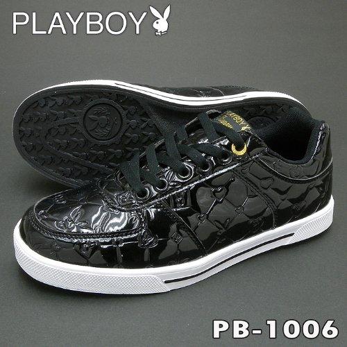 PLAYBOY(プレイボーイ) PB-1006 ブラック (23.0cm)