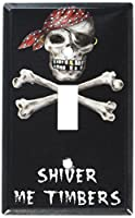 Shiver Me Timbersスイッチプレート Single Toggle Switch Plate S509-plate 1