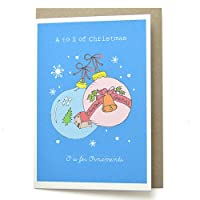 *ロージーワンダーズ クリスマスカード ATZ15 「O」オーナメント