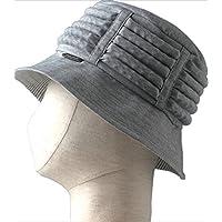 特殊衣料 no.2080 保護帽子アボネット abonet+JARI ハットストライプ グレー 0926084