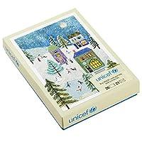 (Holiday Scene) - Hallmark UNICEF Christmas Boxed Cards, Holiday Scene (20 Cards and 21 Envelopes)
