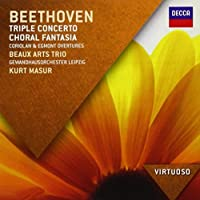 Beethoven: Triple Concerto; Choral Fantasia by Beaux Arts Trio