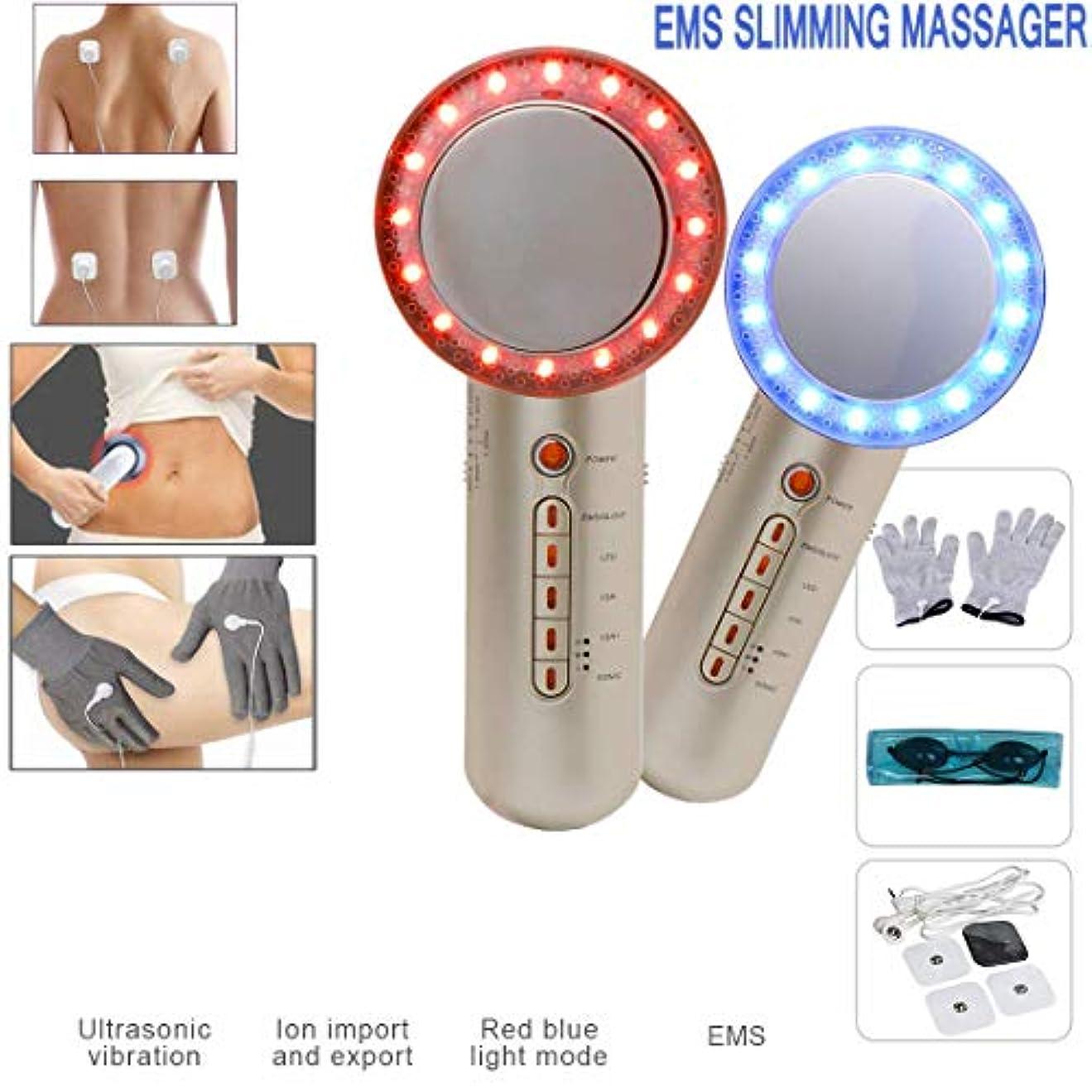 無駄苗コック体重1 6は、アーム胃脚スリミングデバイス用のレッドライト脂肪融解マッサージで肌引き締めマシンを削減します