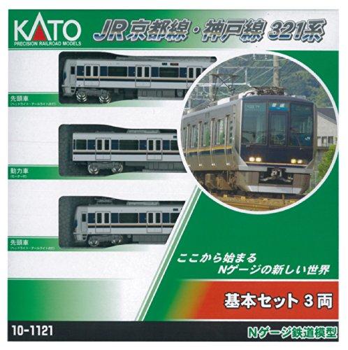 KATO Nゲージ JR京都線・神戸線321系 基本 3両セット 10-1121 鉄道模型 電車