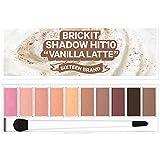 16brand Sixteen Brickit Shadow Hit 10 Vanilla Latte 10g/16ブランド シックスティーン ブリックキット シャドウ ヒット 10 バニララテ 10g [並行輸入品]