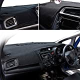 Fit for Honda Jazz Fit 2014 2015 2016-2018 Dashboard Cover Dashmat Dash Mat Pad Sun Shade Dash Board Cover Carpet RHD