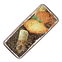 カン ペン ケース 早弁 (のり弁) / カンペン ペンケース ふでばこ 筆箱 入れ 缶 文房具 ゆる キャラ クター お弁当 弁当箱 海苔 海苔弁 ご飯 ごはん 白飯 白米 幕の内 駅弁 おもしろ 面白 可愛い かわいい おしゃれ