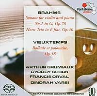 Arthur Grumiaux Plays by BRAHMS/VIEUXTEMPS (2004-12-14)