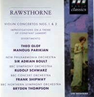 Rawsthorne;Violin Concs.1&2