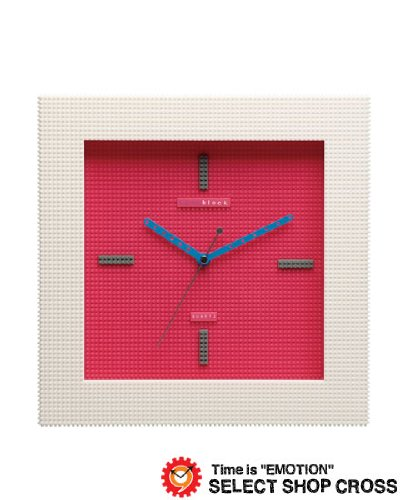 nanoblock ナノブロック デコレーション壁掛時計 おまけフィギア付 ウォールクロック NAWC-96901PI ピンク