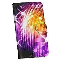 HUAWEI P10 ケース カバー 手帳型 スマコレ レザー 手帳タイプ 革 HUAWEI P10 スマホケース スマホカバー ファーウェイ クール 007657 Huawei ファーウェイ simfree SIMフリー チェック きらきら 黄色 紫 hwp10huawe-007657-nb