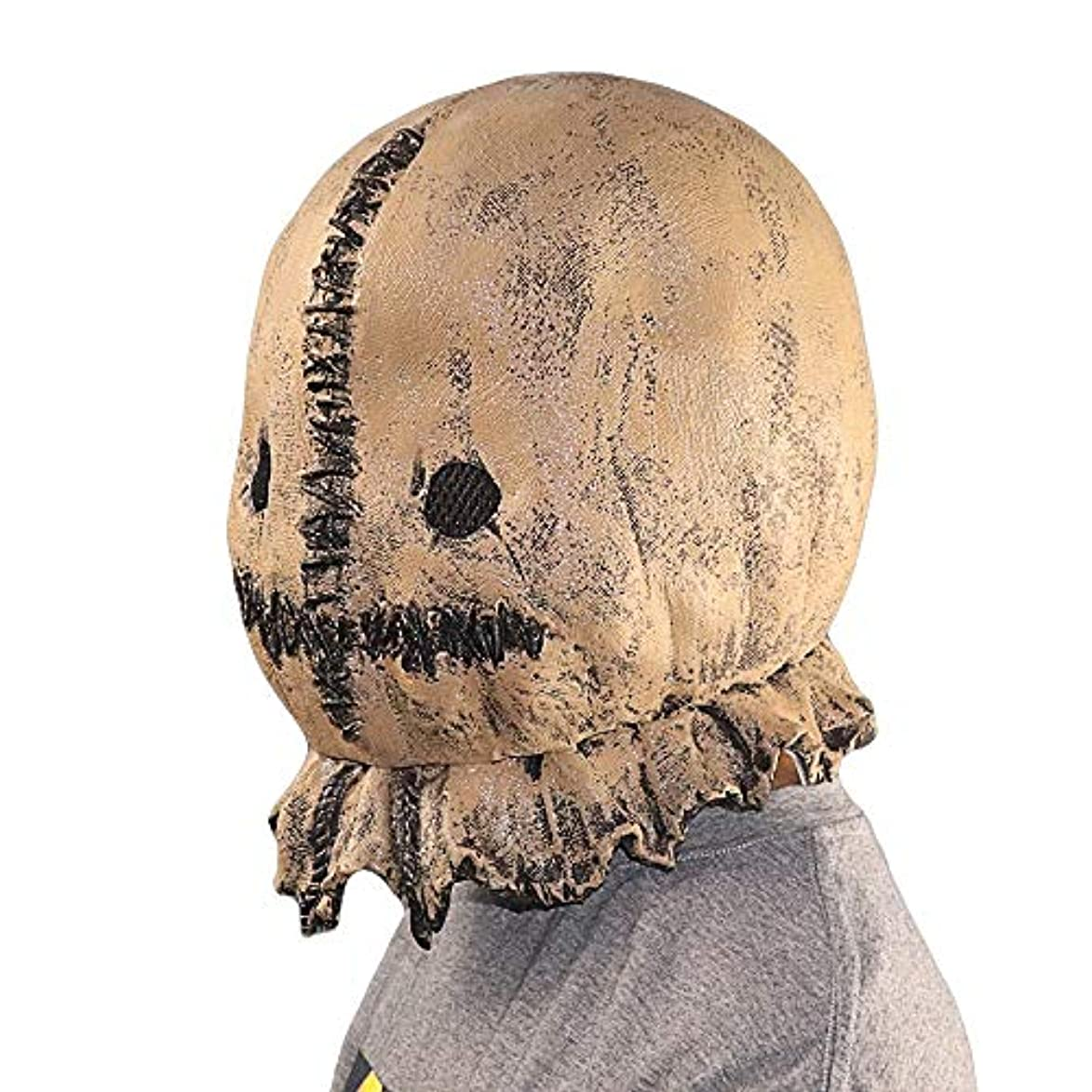 アソシエイトアストロラーベ聖書ハロウィンラテックスかかしマスクヘッドギアハロウィンマッドネスマスクホラーボール小道具