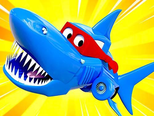 【新放送!】スペシャルシャークウィーク - スーパートラックがサメになって、映画を作る!? / 夏特別編 - 宇宙での休日/夏特別編 - ソーラーパネルトラック/ホバーボート
