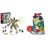 ラッピングセット レゴ(LEGO) ニンジャゴー 巨神メカ タイタンウィング 70676 (サンタソックス L)