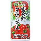 JAふらの 富良野とまとジュース ストレート (食塩無添加) 190g缶×30本入