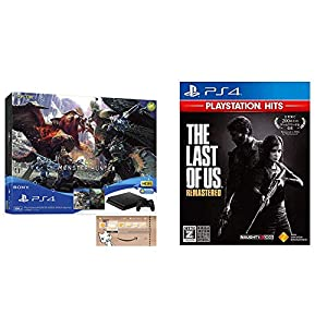 PlayStation 4 MONSTER HUNTER: WORLD Value Pack (Amazon.co.jp限定特典付) + The Last of Us Remastered - PlayStation Hits セット