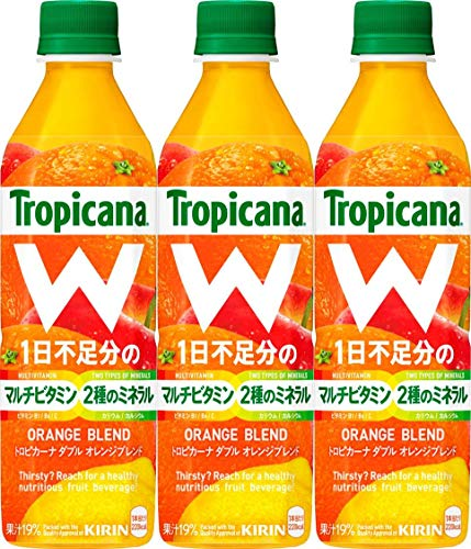 トロピカーナ W オレンジブレンド 500ml×3本