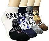 (ジェイジェイマクス) JJMax 男性スターウォーズキャラクター靴下ダースベイダー Star Wars Character Socks (Short Character) [並行輸入品]