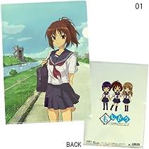 NHKアニメ『もしドラ』A4クリアファイル(2種)【01(ホワイト)】☆アニメキャラクターグッズ(文房具)通販☆