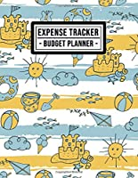 Expense Tracker: Beach Expense Tracker / Budget Planner | 8.5x11 | 52 Weeks Undated