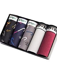 YDPlaier ボクサーパンツ メンズ 5枚セット下着 ローライズ ボクサー パンツ ボクサーブリーフ