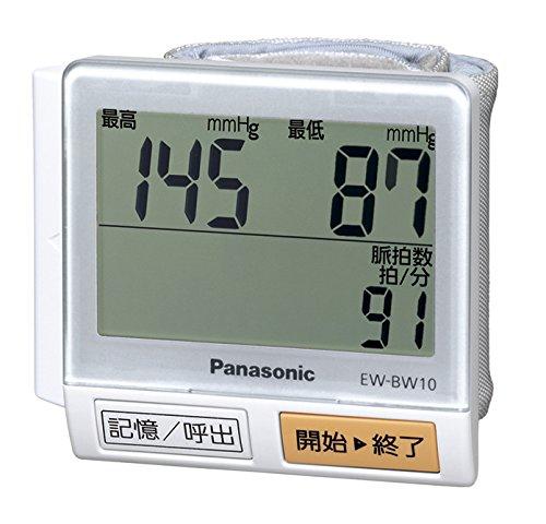 パナソニック 手くび血圧計 白 EW-BW10-W...