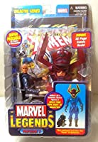 Marvel Legends Year 2005 Galactus Series Super Poseable 5 Inch Tall Action Figure - Charles Xavier aka Professor X with