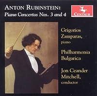 Rubinstein: Piano Concertos 3 & 4 by Grigorios Zamparas (2010-05-25)